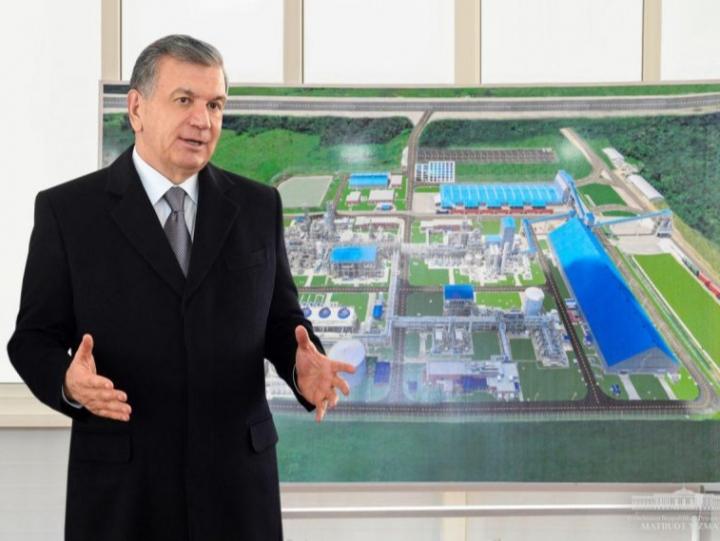 Сирдарёда 600 млн долларлик завод қурилади