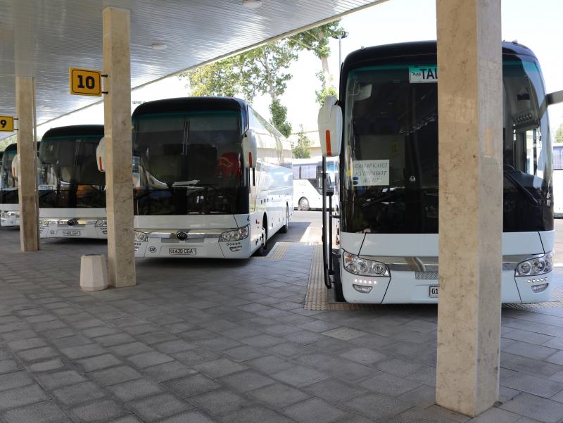 Ўзбекистондан Қозоғистонга янги автобус қатновлари йўлга қўйилди