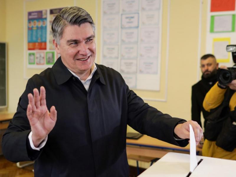 Хорватияда президентликка сайловда мухолиф партия номзоди ғолиб бўлди