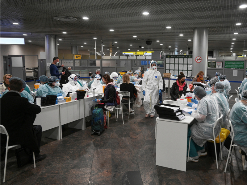 Ўзбекистонга келаётган қанча одамда коронавирус аниқлангани айтилди