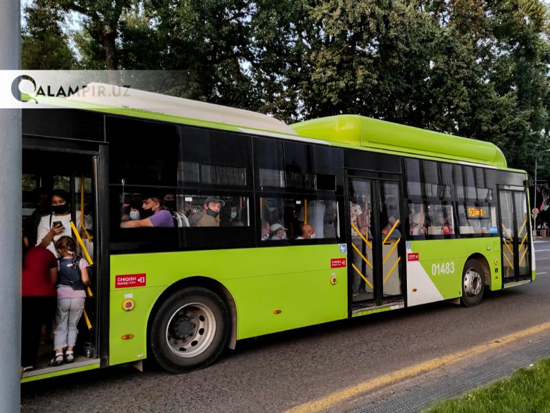 1 октябрдан Тошкентда 8 та автобус йўналишида ўзгариш бўлади