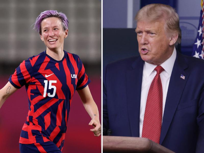 Трамп Олимпиада бронза медалини қўлга киритган АҚШ футболчиларини танқид қилди
