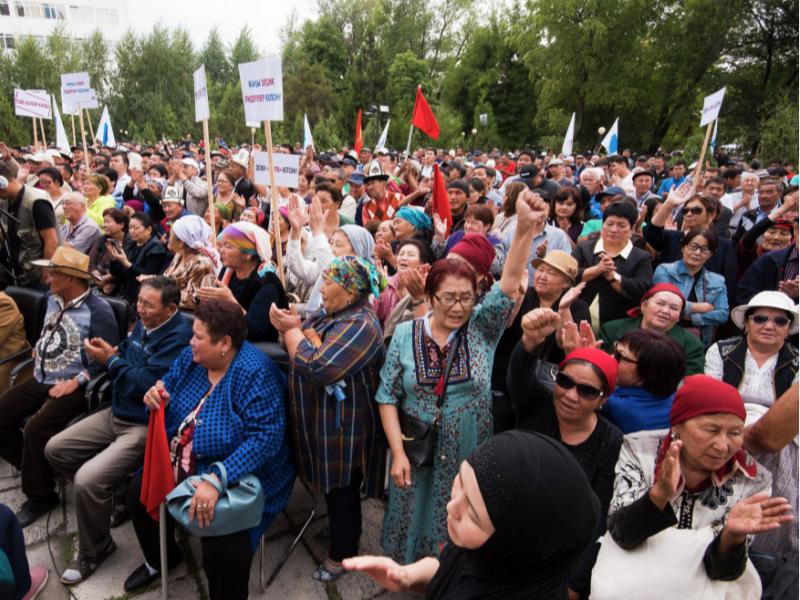 Бишкекда митинг бўлиши кутилмоқда
