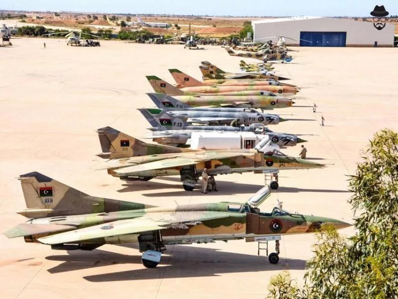 Ливия тарихидаги энг катта ҳаво амалиёти бошланди
