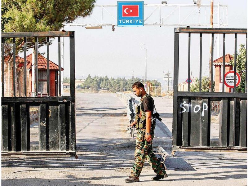 Сурия армияси чегараолди ҳудудининг катта қисмини назоратга олди