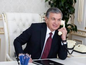 Шавкат Мирзиёев Қозоғистон Президенти билан телефон орқали мулоқот қилди