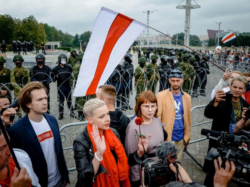 Germaniya Belarus muxolifatchilariga boshpana beradi