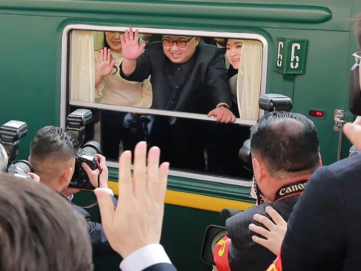 Ким Чен Ин Дональд Трамп билан учрашувга зирҳланган поездда йўл олди