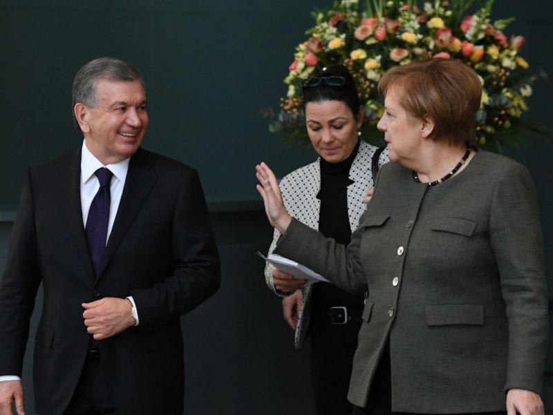 Мирзиёев Германия канцлери Меркель билан онлайн мулоқот ўтказади
