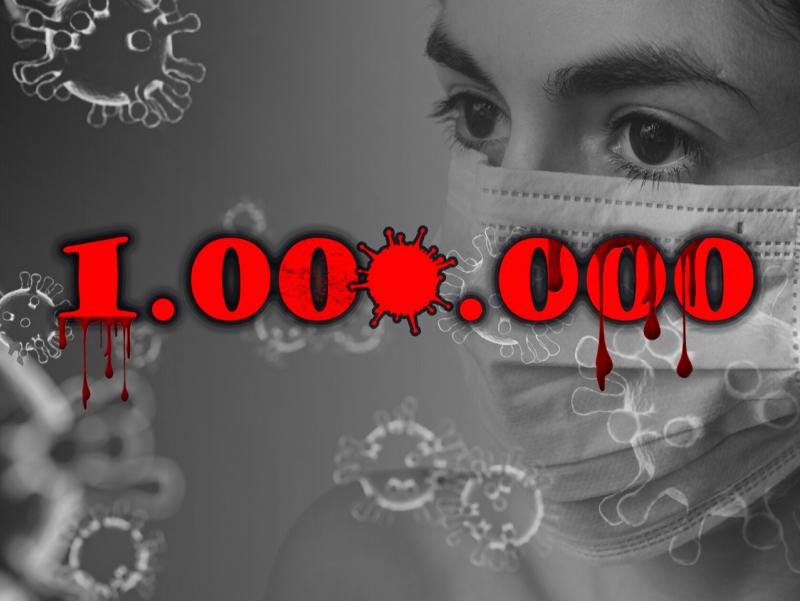 Коронавирусни юқтирганлар 1 000 000 дан ошди. Туркия хавфли ўнликка кирди