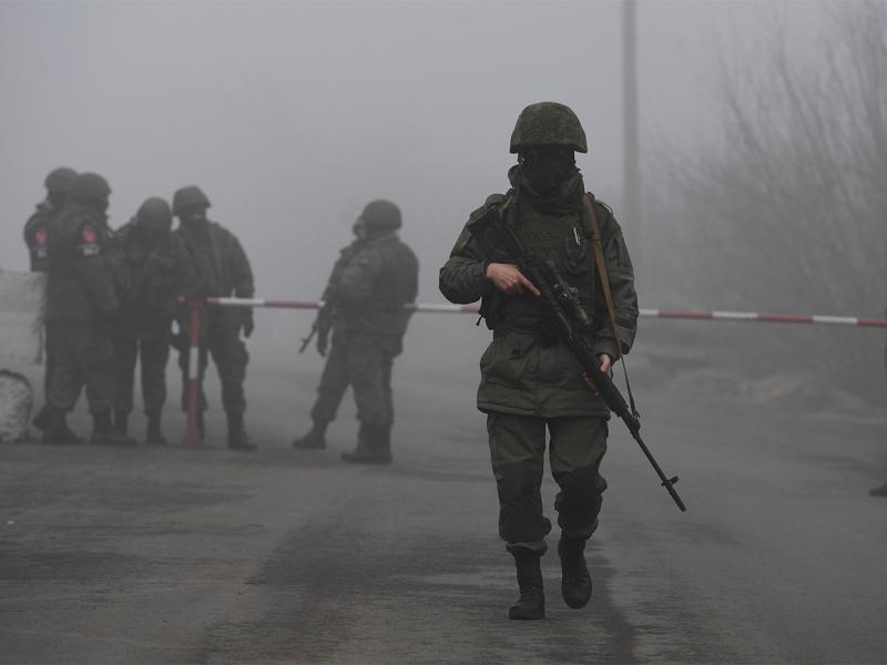 Украина ва Россия ўртасидаги ҳудудда ҳарбий вазият кескинлашмоқда