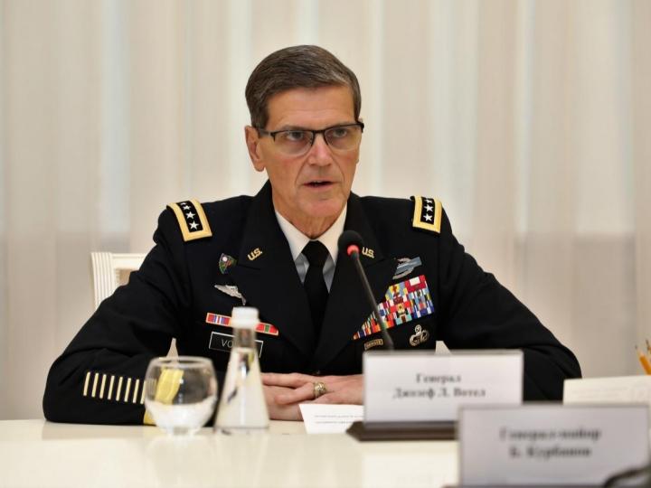 Америкалик генерал — Ўзбекистонда!