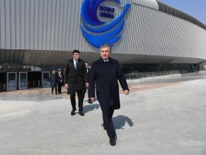 """Президент """"Humo Arena""""га борди"""