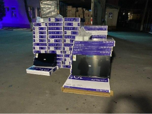 100 миллион сўмлик телевизорларнинг ноқонуний айланмасига чек қўйилди