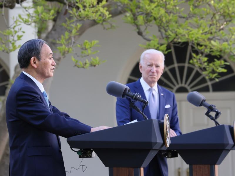 Япония Бош вазири Байден билан тил топишганини айтди