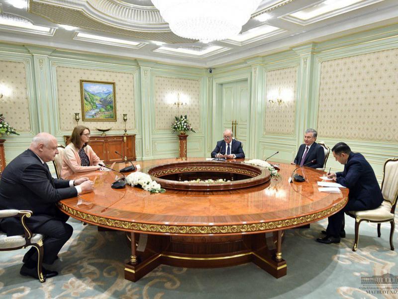Президент ЕХҲТ Парламент Ассамблеяси раисини қабул қилди