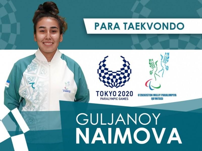 Токио-2020: Ўзбекистонлик пара таэквондочи ярим финалга йўл олди
