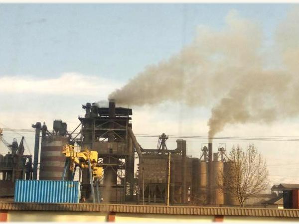 Андижонда экологияга зарар етказган цемент заводи фаолияти тўхтатилди