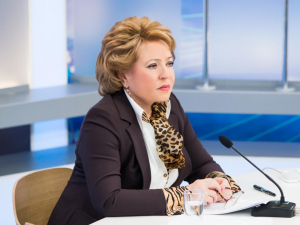 Матвиенко Норбоева билан учрашгани Ўзбекистонга келяпти