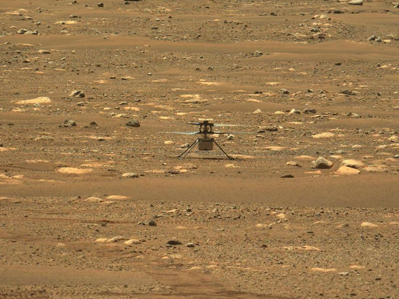 Tarixda ilk bor Marsdan kislorod olindi