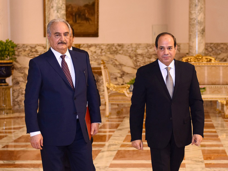 Миср Президенти Ливияга бостириб кириши мумкинлигини айтди