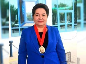Танзила Норбоева махсус медаль билан тақдирланди