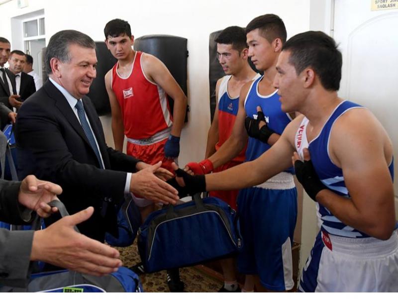 Халқаро мусобақалар ғолиб-спортчиларини ОТМга бепул қабул қиламиз – Президент