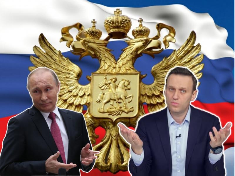 Россия халқи Путинга кўпроқ ишонадими ёки Навальнийга?