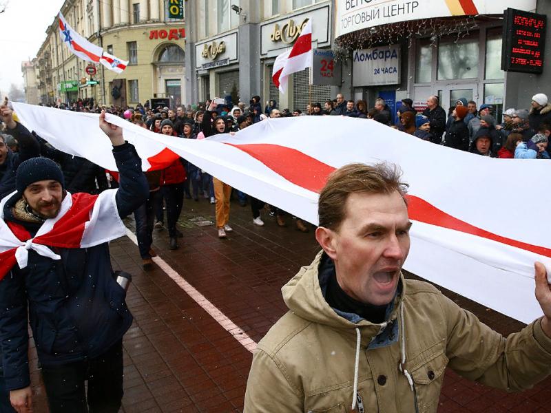 Беларусь мухолифати митинглар ўтказиш учун сценарийлар кўриб чиқмоқда