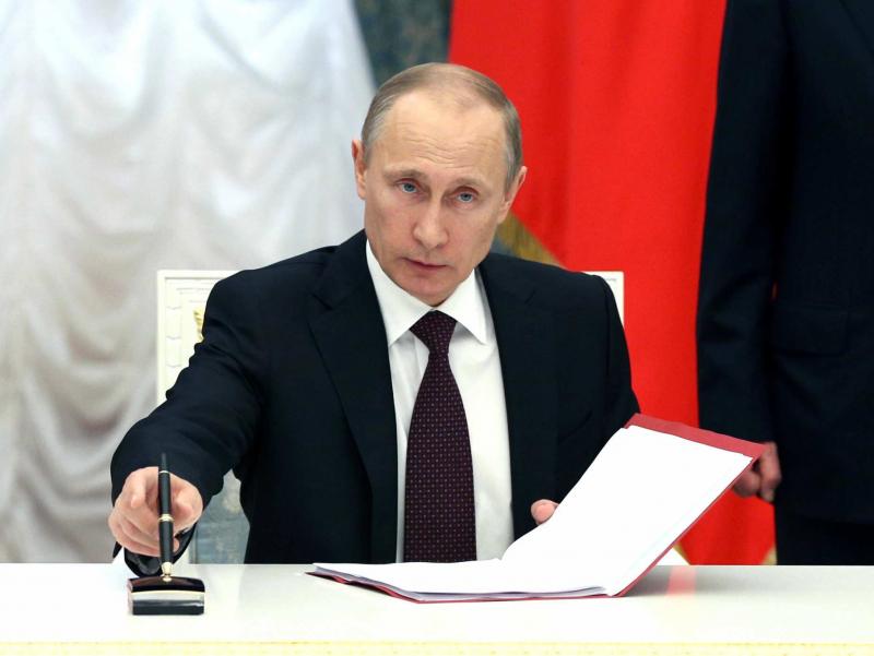 Путин ЕИга қарши санкциялар муддатини узайтирди