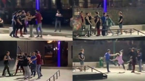 ИИББ скейт-майдондаги жанжал бўйича маълумот берди