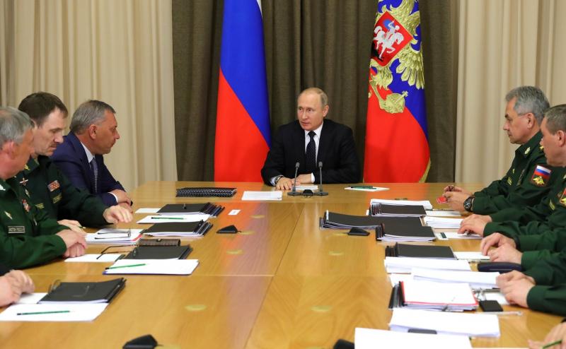 Путин Россиянинг XXI асрдаги асосий қуролини маълум қилди