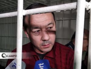 Аҳмадбойга суднинг сўнгги ҳукми ўқилди (видео)