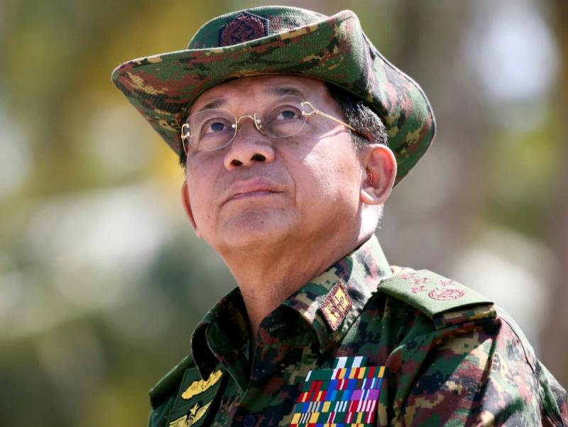 Harbiylar qo'liga o'tgan Myanmada muvaqqat Prezident tayinlandi