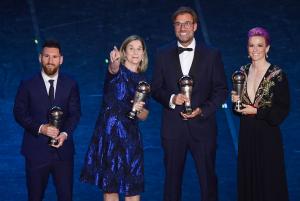 ФИФА йилнинг энг яхшиларини тақдирлади