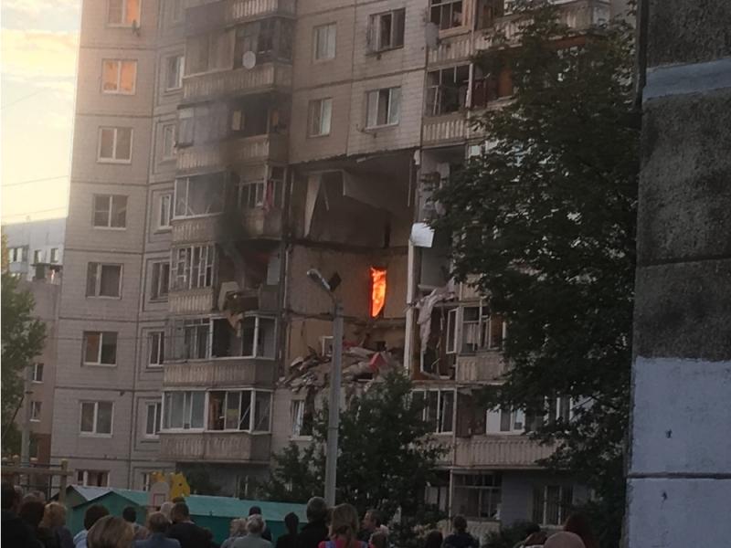 Россияда кўп қаватли уйда газ портлади (видео)