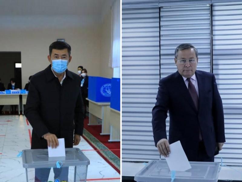 Prezident saylovi: Abdurahmonov va Turdimov ovoz berdi