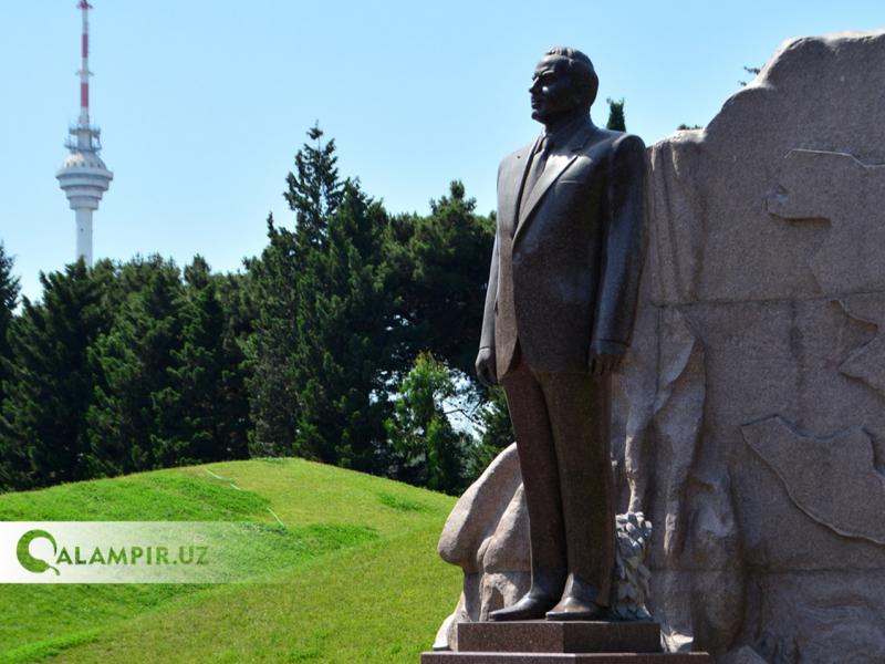 Тошкентда Ҳайдар Алиев номидаги боғ қуриляпти. Уни икки давлат Президентлари очиб беради