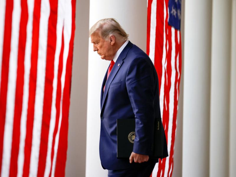 Трамп муддатидан олдин президентликдан кетадими?