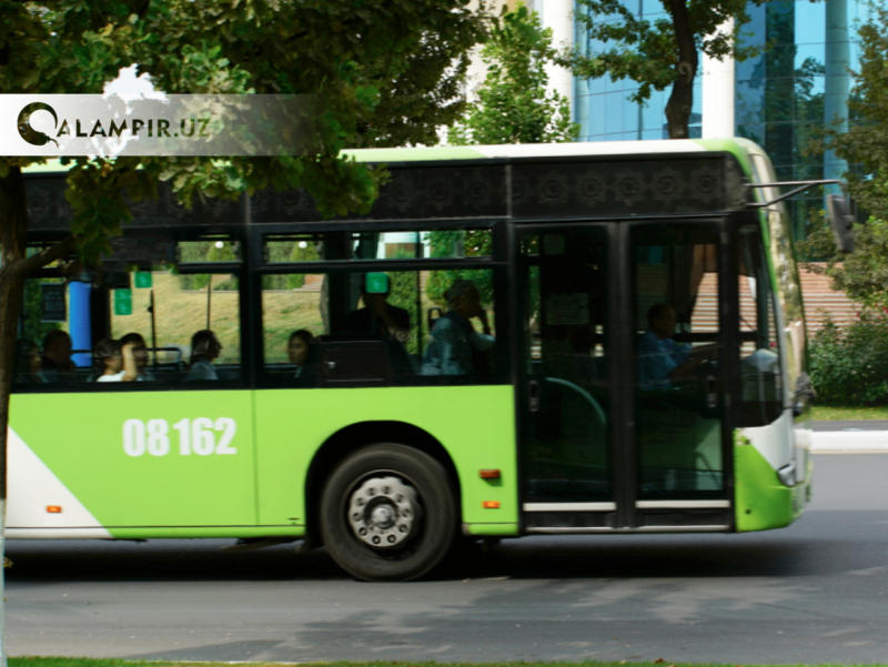 Пойтахтда 20 га яқин йўналишдаги автобус ҳаракати ўзгарди