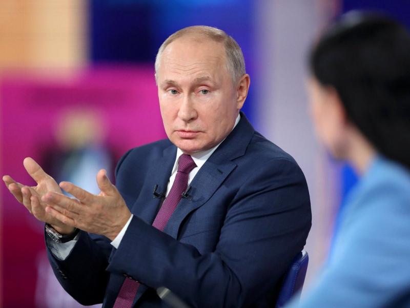 Ukraina hayotining muhim masalalari Kiyevda emas, Vashingtonda hal qilinadi — Putin