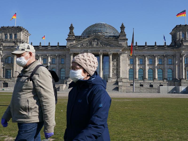 Германияда кучайтирилган карантин 16 декабрдан кучга киради