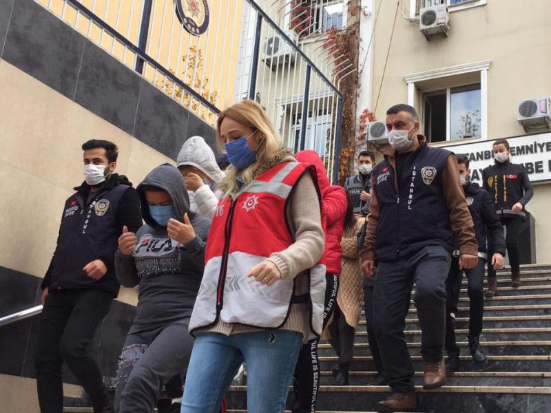 Истанбулда фоҳишалик билан шуғулланаётган 17 нафар ўзбекистонлик аёл қўлга олинди