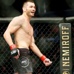 UFC: Маҳмуд Муродов муддатидан аввал мағлубиятга учради (видео)