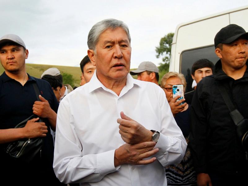 Бишкек суди Атамбоевни ҳибсда қолдирди