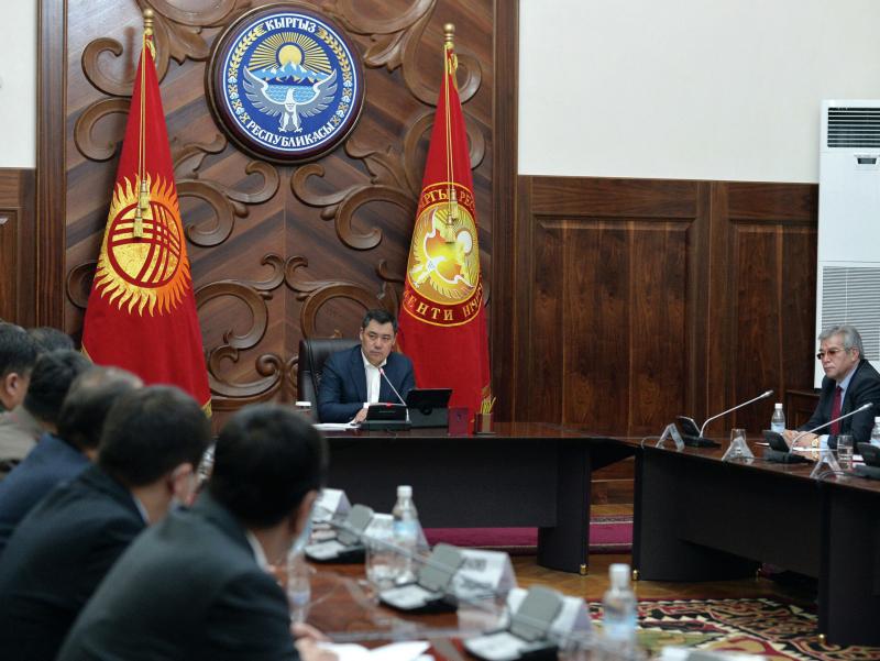 Japarov Qirg'izistonning yangi hukumatini tuzdi
