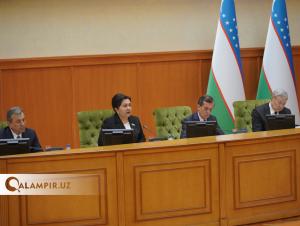 Сенат Президент фармонини тасдиқлаб берди