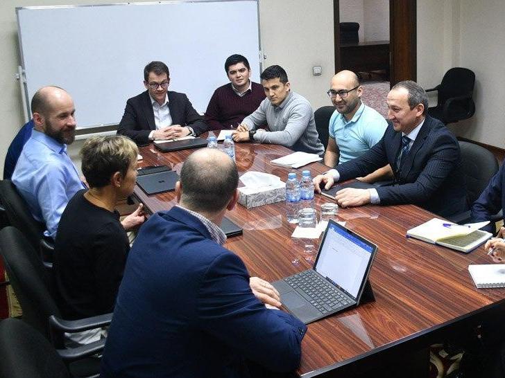 UEFA делегацияси Ўзбекистонга ташриф буюрди