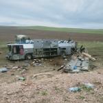 Олмаота-Тошкент йўналишида ҳаракатланаётган автобус ЙТҲга учради. 11 киши вафот этгани айтилмоқда