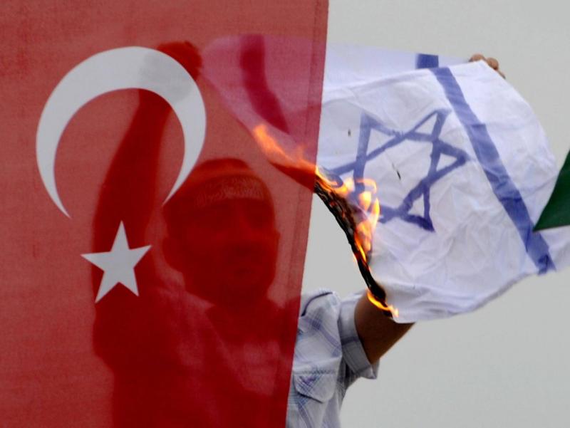 """Isroil G'azoni """"ochiq turma""""ga aylantirdi — Turkiya"""